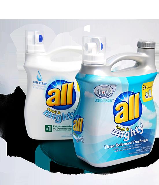 All 96oz laundry bottle