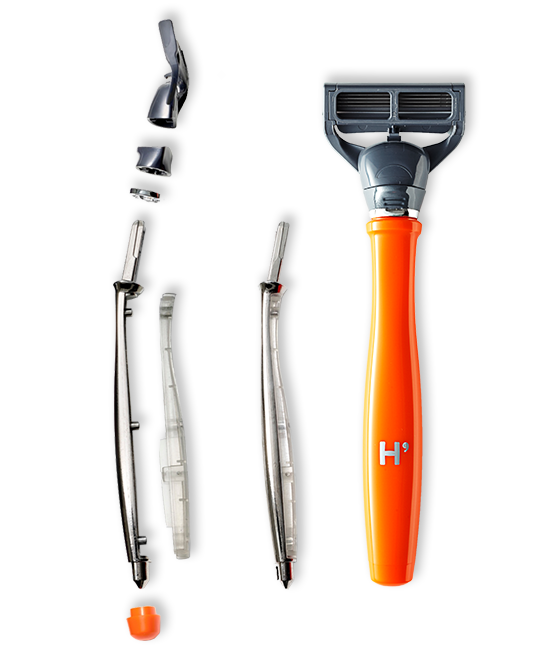 Harry's Truman razor construction