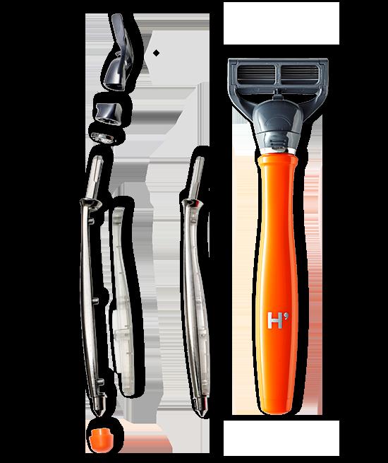 Harry's Truman razor construction