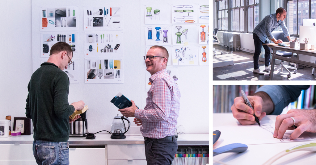 Designers working at Prime Studio, New York City