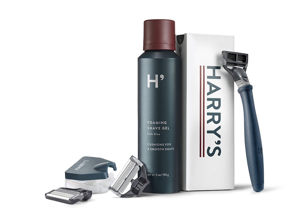 Harry's grooming designs by Prime Studio