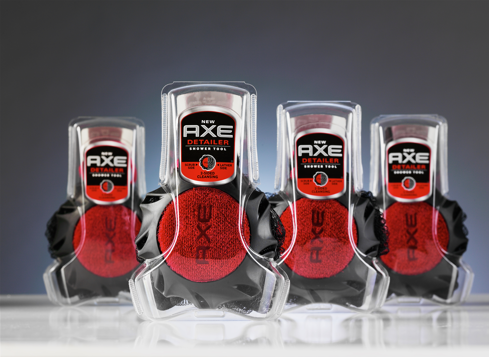 Axe detailer packaging