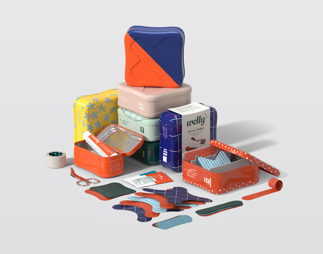 Welly Structural packaging by Prime Studio