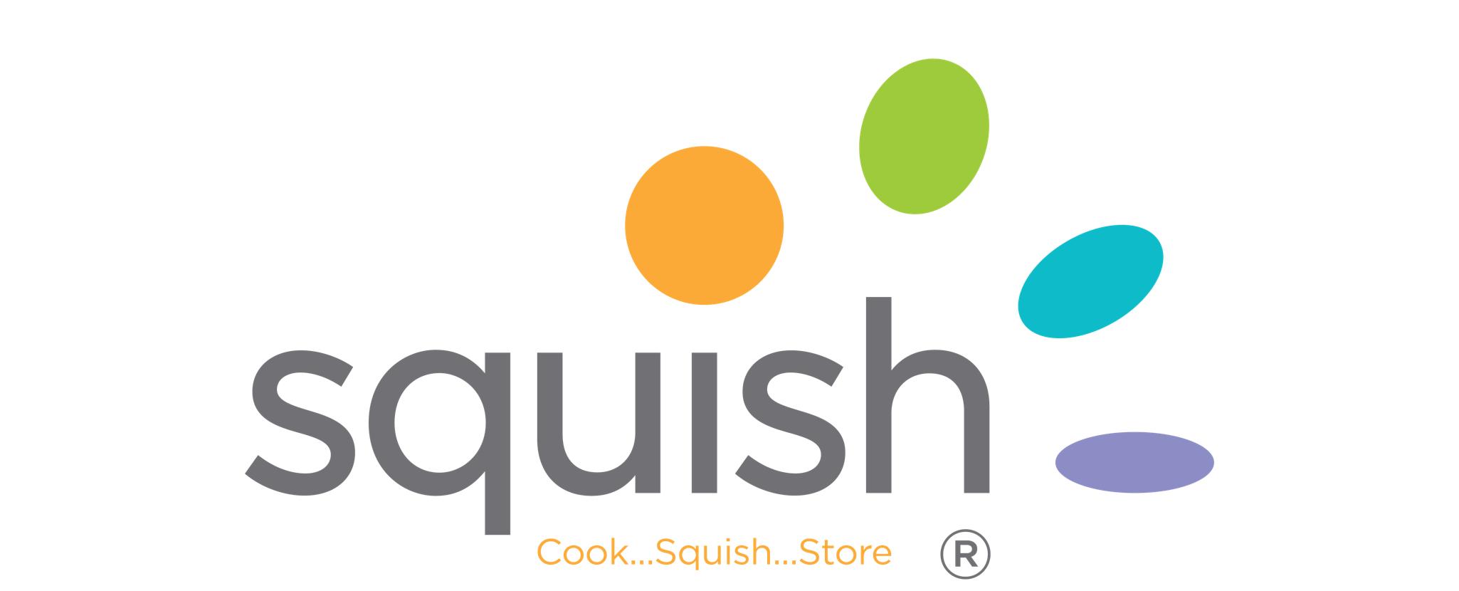 Squish logo design
