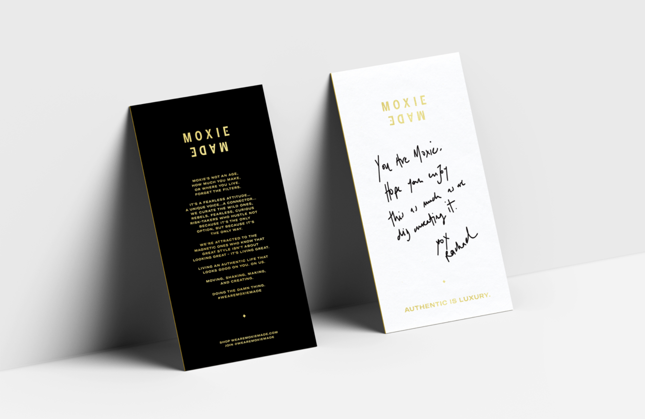 MoxieMade Collateral by Prime Studio