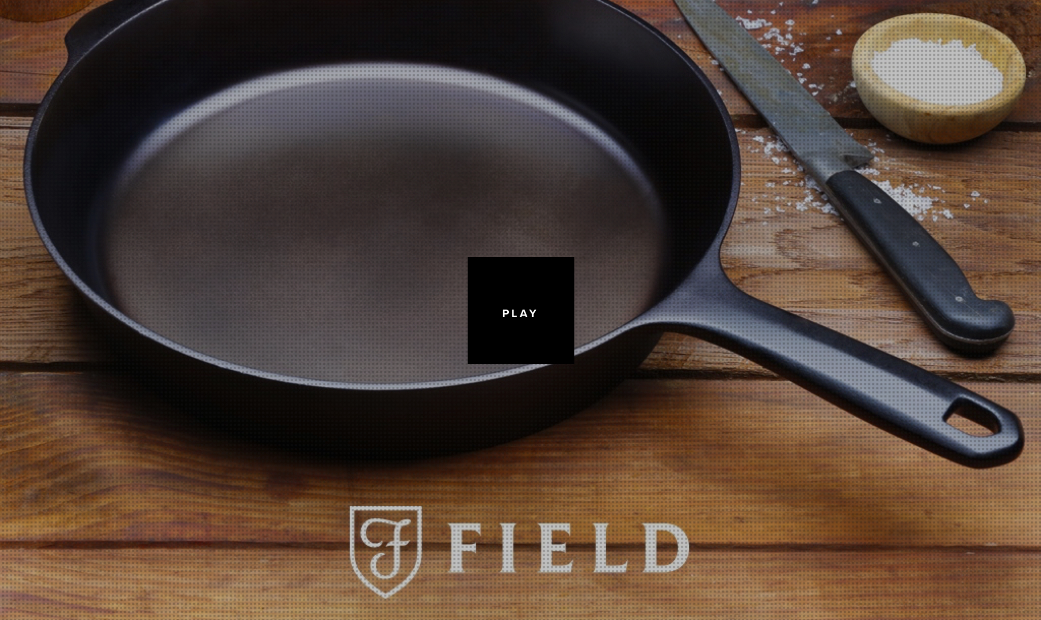 Cast iron skillet design by Prime Studio