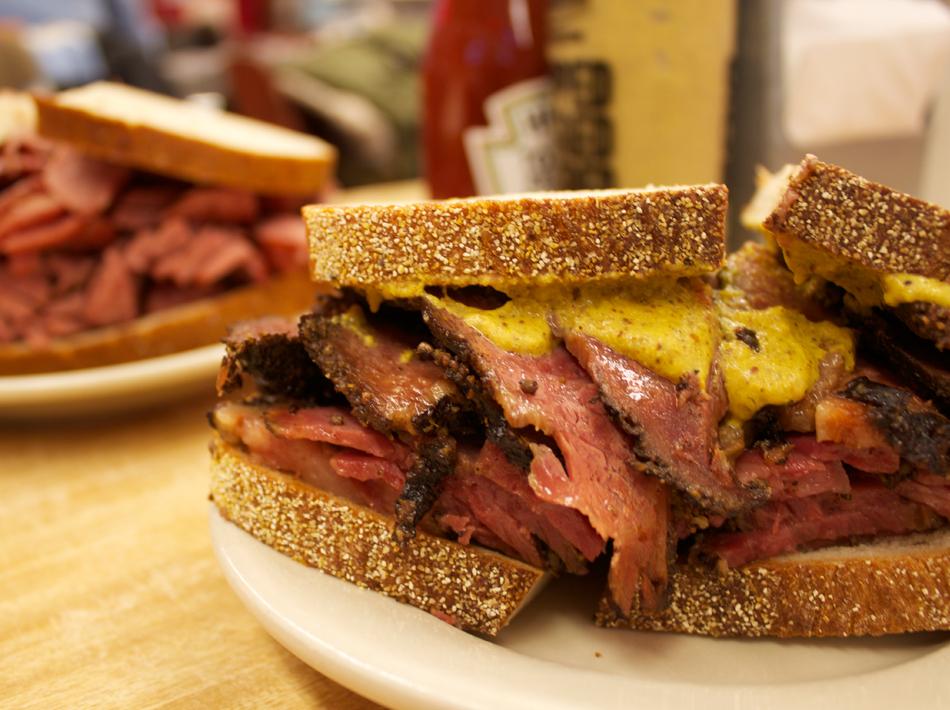 Katz's sandwich