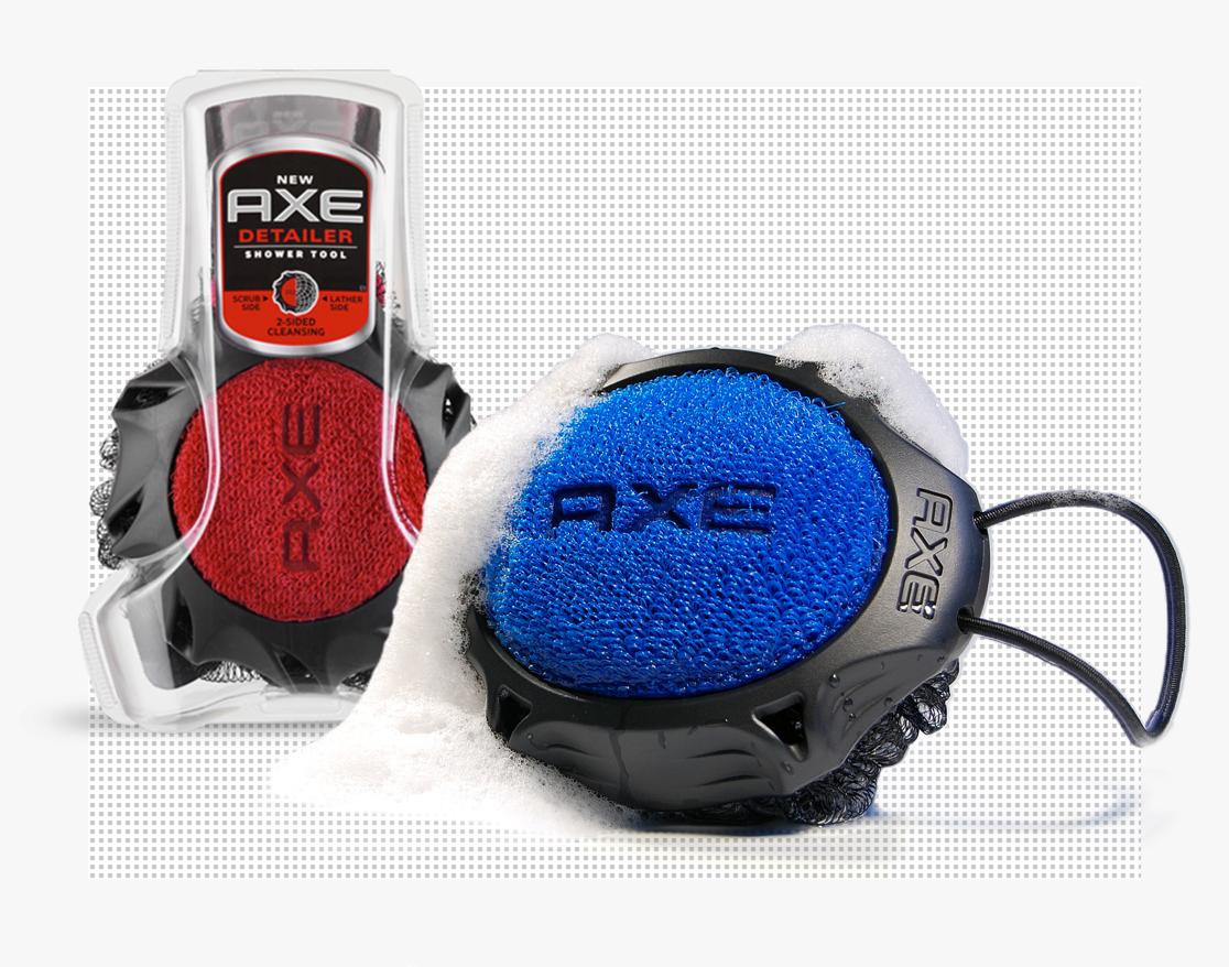 Axe Detailer shower tool
