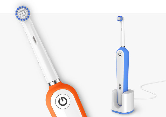 Goby toothbrushes