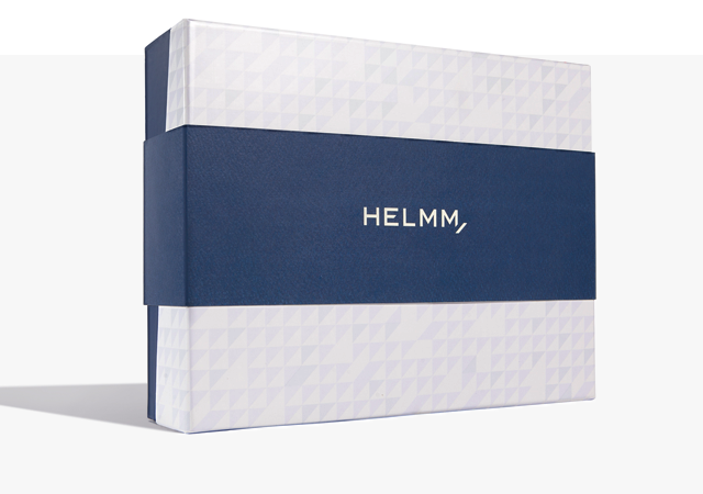 Helmm Deodorant Packaging + Branding